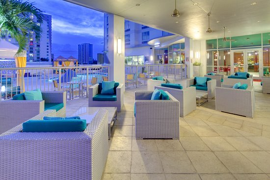 Hampton Inn & Suites by Hilton - Miami Brickell Downtown: Terrace