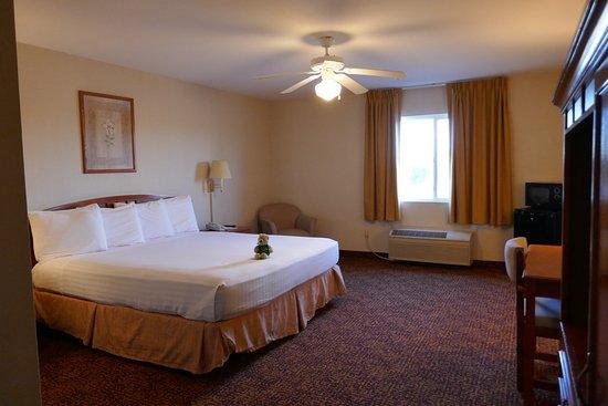 Westmorland, كاليفورنيا: Comfortable bed