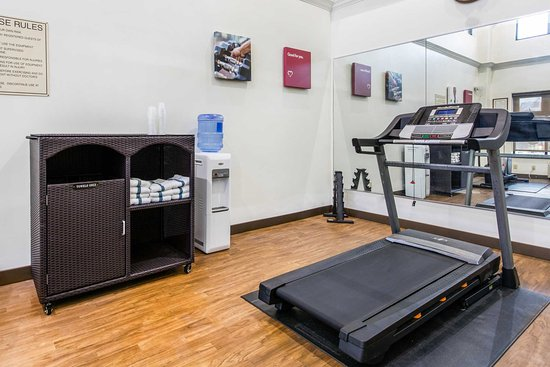 Comfort Inn & Suites Airport - American Way : Exercise room
