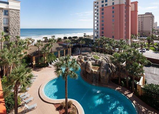 Hampton Inn Jacksonville Beach Oceanfront Room View