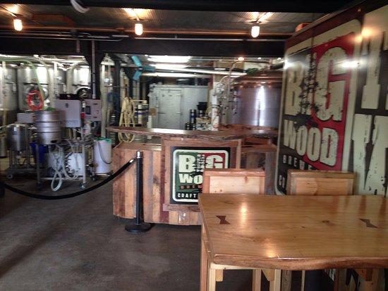 White Bear Lake, MN: Big Wood Brewery - Brewing