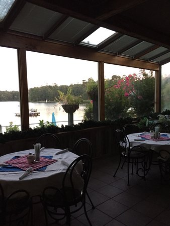 Louisville, MS : Lake Tiak-O'Khata Restaurant