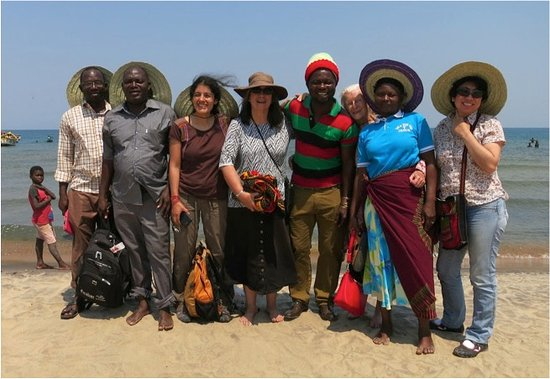 Salima, Malawi: Our group with Francis