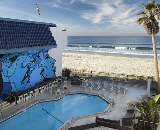 Blue Sea Beach Hotel Mural