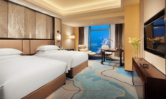 Zhuzhou, China: Twin Guest Room with River View