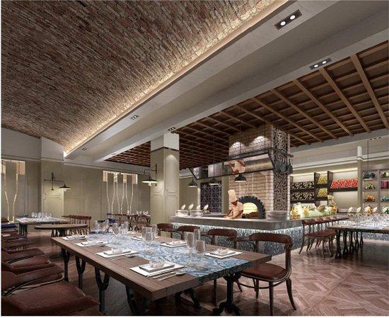 Zhuzhou, China: Osteria Restaurant