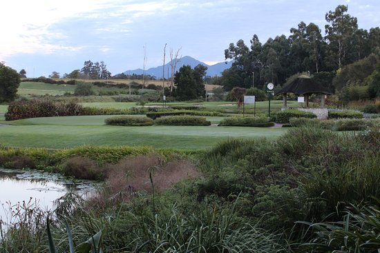 Fancourt Country Club: No 10 Tee view from room