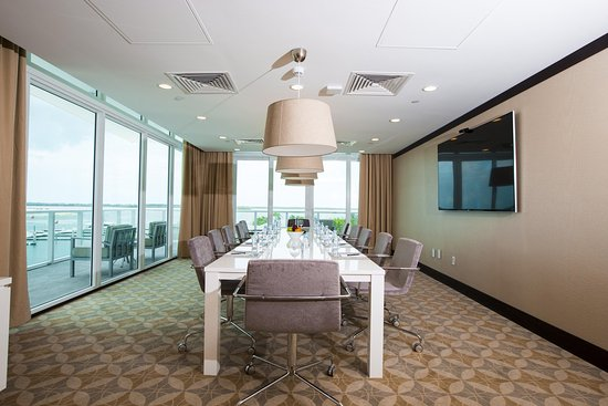 Conference Room at the Hilton at Resorts World Bimini