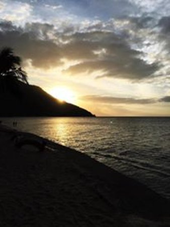Sunset at Aninuan Beach Resort Picture