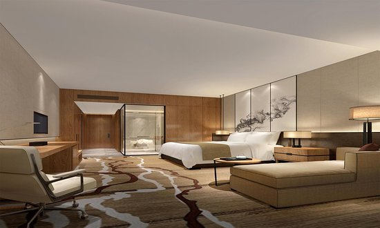 Jimo, Chine : King Deluxe Room