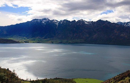 Квинстаун, Новая Зеландия: Views in the Black Spur canyon