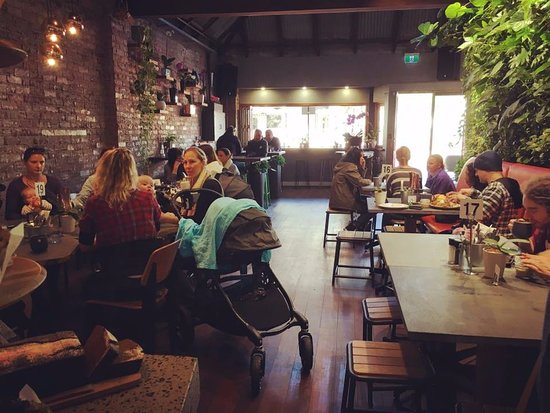 Bassendean, Australia: a warm and friendly vibe throughout the cafe