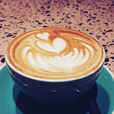 Bassendean, ออสเตรเลีย: great five senses coffee available
