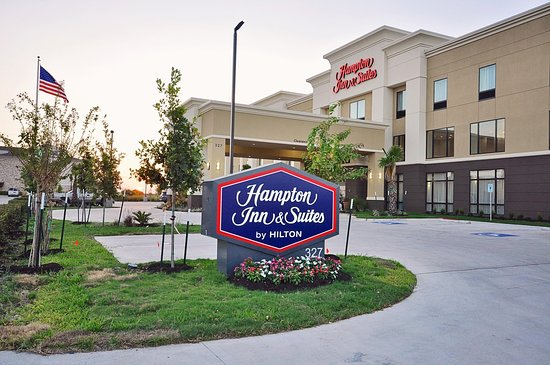 Hutto, TX: Hotel Entrance