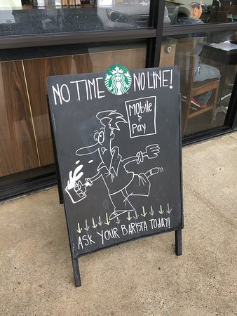 Murrieta, CA: Use the Starbucks App