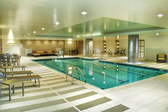 Indoor Swimming Pool Picture Of Doubletree By Hilton Hotel
