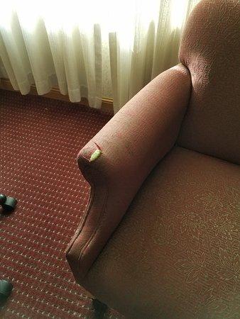 Elko, NV: Threadbare chair