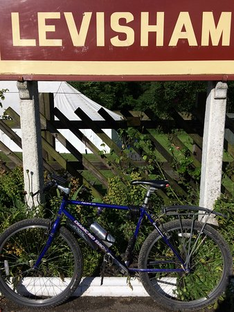Pickering, UK: At Levisham Station - which isn't quite at Levisham!