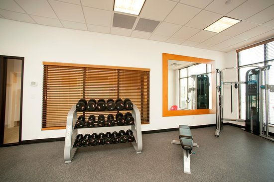 Fitness Center Free Weights Picture Of Hilton Garden Inn San Antonio Live Oak Conference