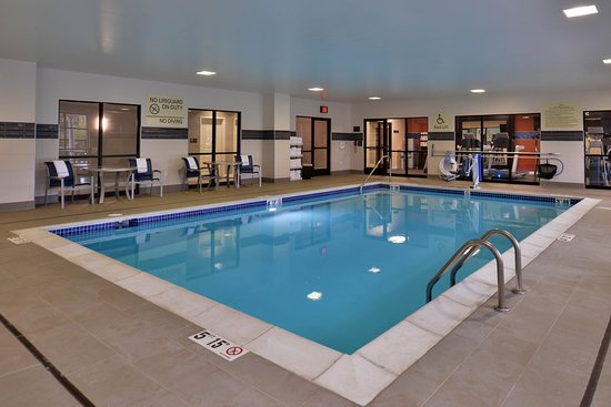 Swimming pool picture of hampton inn suites ann arbor - Menzies hotel irvine swimming pool ...