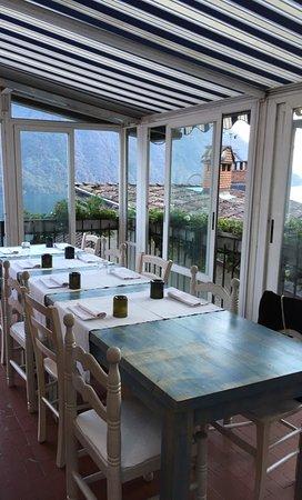 Gandria, Suisse : veranda