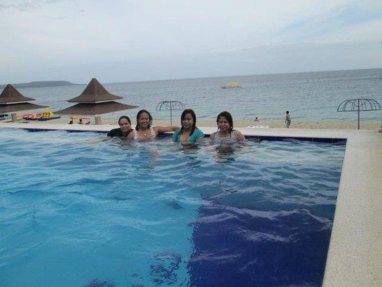 The Renewed Pool Picture Of Blue Coral Beach Resort Laiya Tripadvisor