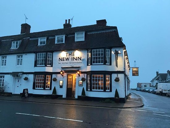 New Inn Winchelsea: Looks like a publicity shot! lol
