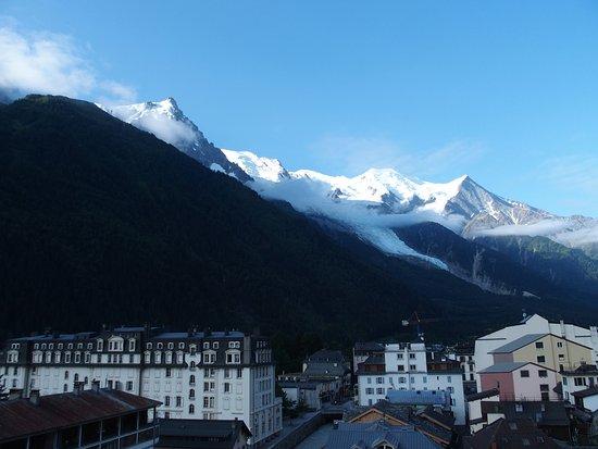 Alpina Hotel: 朝、ベランダからの眺め