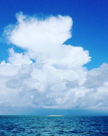 Cape Tribulation, Australia: Mackay Reef on the horizon.