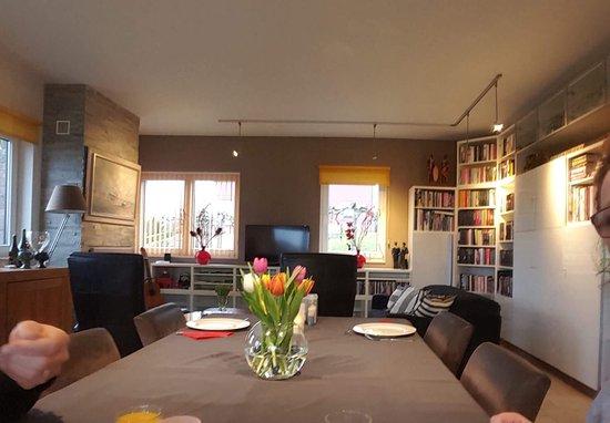Villa Roma: Ontbijt kamer