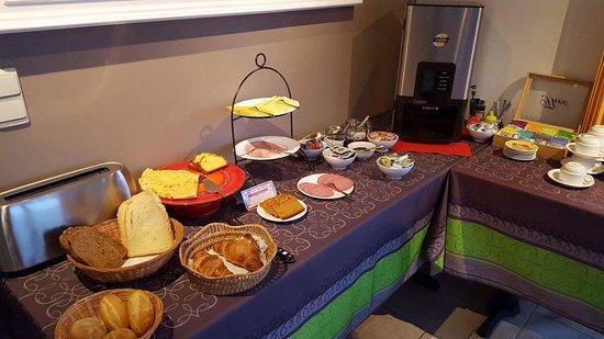 Villa Roma: Het heerlijke ontbijt.