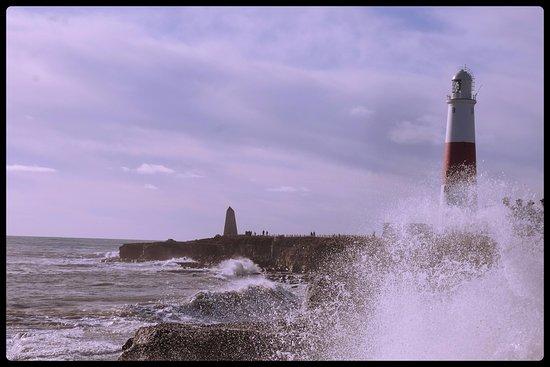 Isle of Portland, UK: stormy