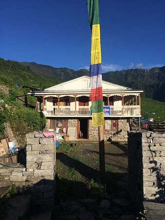 Bagmati Zone, Nepal: The Paldor Peak Guest house is situated at the top of the village from where we can easily view