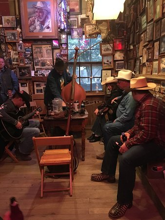Luckenbach, TX: Grab a cheap beer and take in your surroundings!
