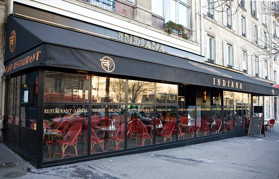 Indiana cafe bar 235 rue du faubourg saint honore in for Bar exterieur paris