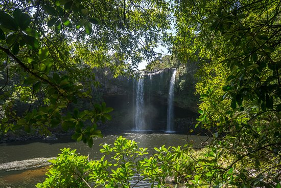 Kerikeri, New Zealand: The bottom of the falls
