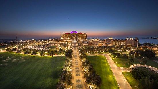 Emirates Palace At Dusk