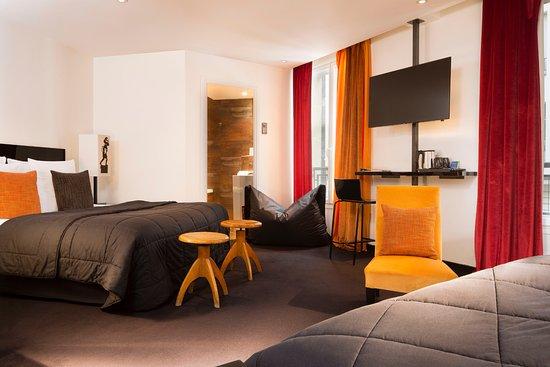 hotel le chat noir paris france reviews photos price comparison tripadvisor. Black Bedroom Furniture Sets. Home Design Ideas
