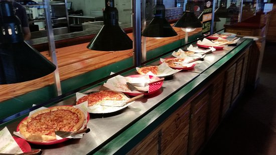 Double Dave's Pizzaworks: Buffet.