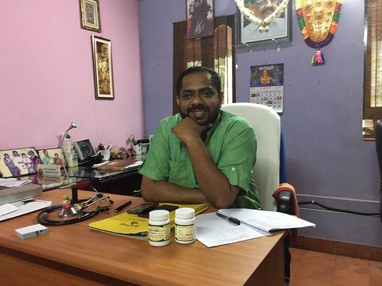 Sarovaram Ayurvedic Backwater Health Centre: Dr. Kiram