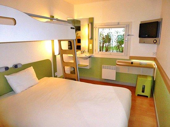 Notre chambre standard pour 3 personnes photo de ibis budget roanne roanne tripadvisor - Prix chambre ibis budget ...