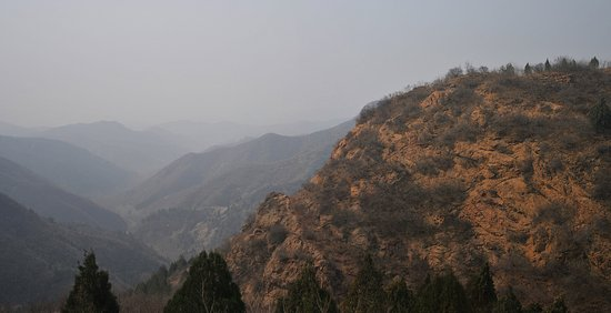 Luanping County, China: The panoramic views of the Great Wall