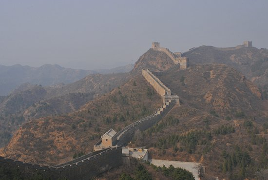 Luanping County, China: The Wall goes for miles - quiet and lonely