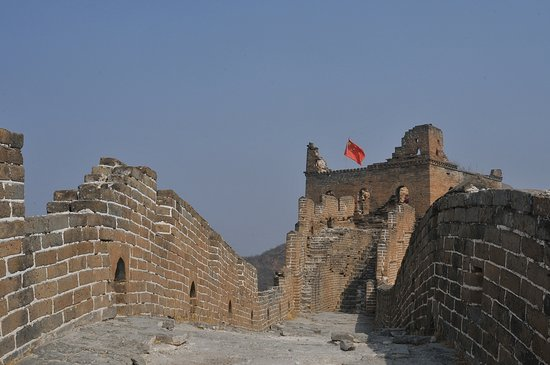 Luanping County, China: The Old Part of Jinshanling Great Wall
