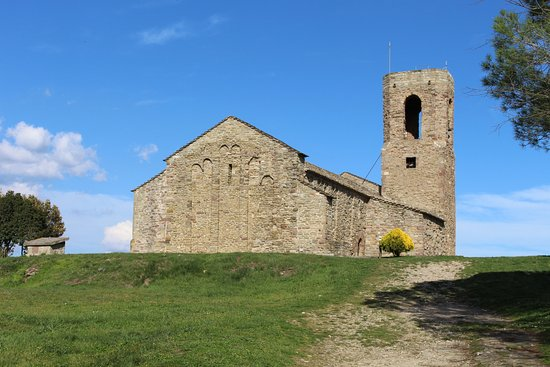 Tona, إسبانيا: Iglesia del Castell de Tona