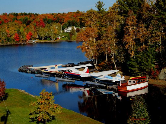 Greenville, ME: Our Vintage seaplanes