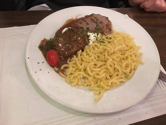 Restaurant Klingental: auch ein prima Teller