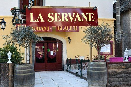 Sauve, Frankrig: La Servane Restaurant Brocante