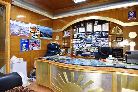 OYO 8455 Himalayan Nest: TRAVEL DESK OF HOTEL AKASH