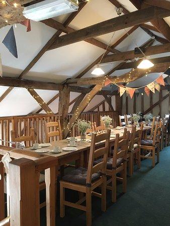 The BarnYard Restaurant: Mezzanine Floor, Allowed 19 People With Plenty Of  Room